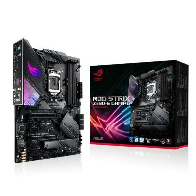 MOTHERBOARD ASUS ROG STRIX Z390-E GAMING, DDR4, 64 GB, Intel, LGA1151, ATX