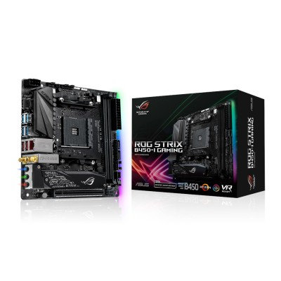 MotherBoard ASUS MOTHER BOARD ASUS ROG STRIX B450-I GAMING, DDR4, 32 GB, AMD, So