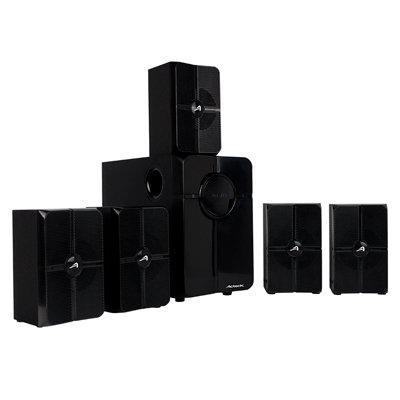 Bocina Acteck AC-922074 45W 5.1 Bluetooth 3.5mm / Bluetooth / USB / SD / Negro A