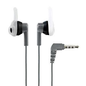 AUDIFONOS DEPORTIVOS IN-EAR CON MICROFONO (NEGRO/GRIS)