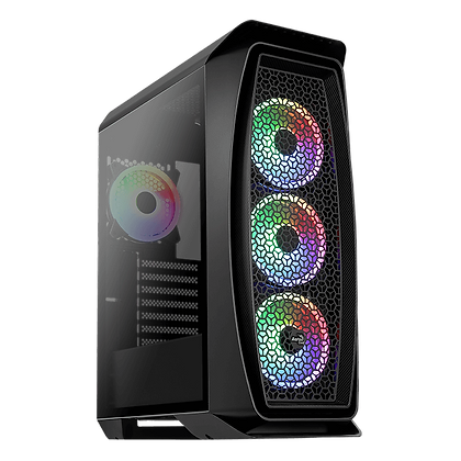 GAB AEROCOOL AERO ONE DUO G BLACK V1, ATX
