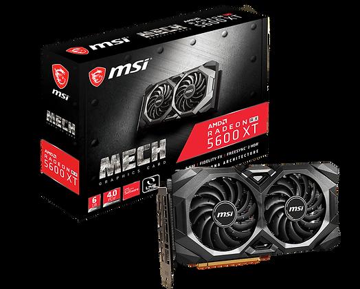 GPU MSI RADEON RX 5600 XT GAMING MX,6GB GDDR6