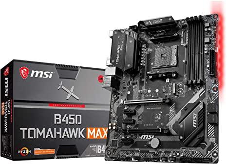 msi b450 tomahawk max am4 4ddr atx