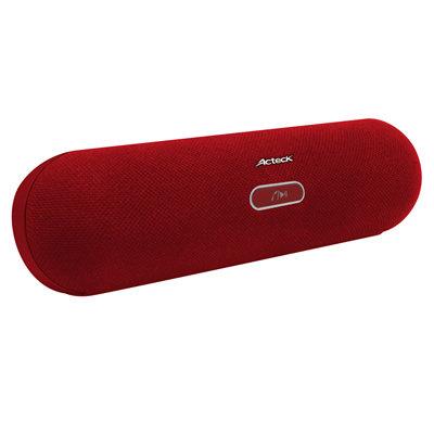 Bocina Portátil Acteck Xplotion PL-300 Recargable Bluetooth NFC 3.5mm Rojo LVBB-