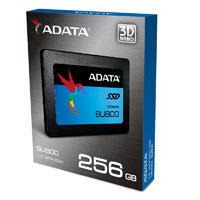 UNIDAD DE ESTADO SOLIDO SSD ADATA SU800 256GB 2.5 SATA3 7MM LECT.560 / ESCR.520M