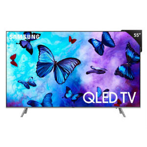 Smart LED-LCD TV Samsung Q60R QN55Q60RAF 139.7cm - 4K UHDTV - Negro - LED Quantu