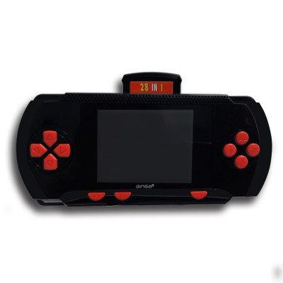 Video Juegos GINGA GICONV04, Consola portátil, Negro
