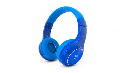 Vorago Audífonos con Micrófono HPB-300, Bluetooth, Inalámbrico, Azul