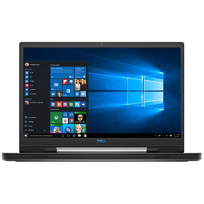 """Laptop DELL 17.3"""" G7 Core I5 9300H 8GB 128GB SSD GeForce RTX2060 W10 Home Negro"""