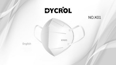 Cubrebocas, Dycrol, CM -NO-K01-12, 5 capas de proteccion, Nivel KN95 EU -FFP2. F