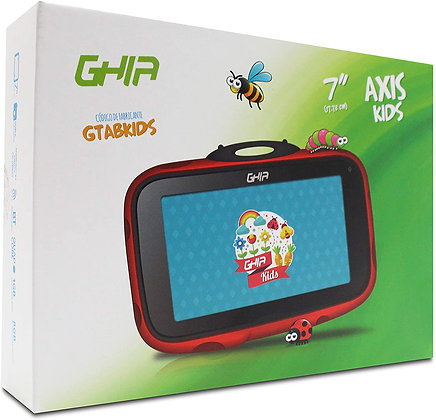 TABLET GHIA KIDS 7 GTABKIDSR /Q UAD CORE/1GB/8GB/2CAM/WIFI/BLUETOOT