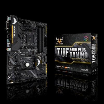 Tarjeta Madre ASUS TUF B450-PLUS, DDR4, 64 GB