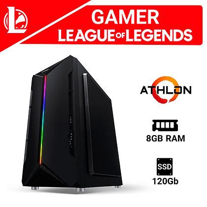 Computadora Ensamblada Gamer LOL AMD ATHLON 3000G + RAM 8GB + SSD 120GB No OS PB