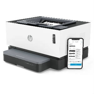 HP NeverStop Laser 1000w Impresora, 21 ppm ciclo de trabajo mensual hasta 20,000