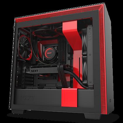 GAB NZXT H710 BLACK/RED EATX