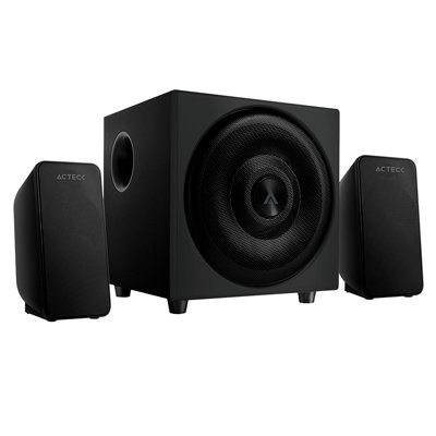 Bocinas Acteck Howl S2110 2.1 20W 3.5mm / Bluetooth Negro AC-922920
