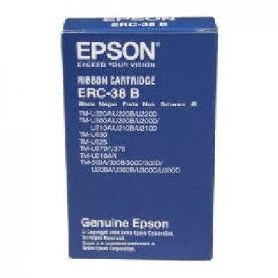 Cinta EPSON ERC-38B, Negro