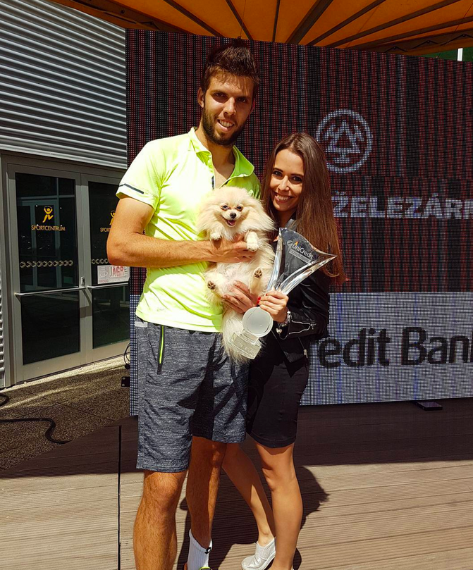Tennis Player Celebrated Win With His Pup