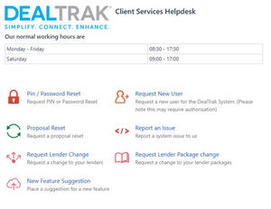 DealTrak Hack - Setting up and using the help portal