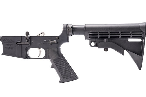 ANDERSON MANUFATURE COMPLETE LOWER,  AM-15 M4 – OPEN