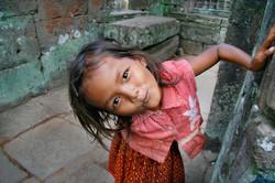 Girl. Angkor Wat, Cambodia