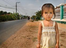 Girl. Delta Mekong, Vietnam