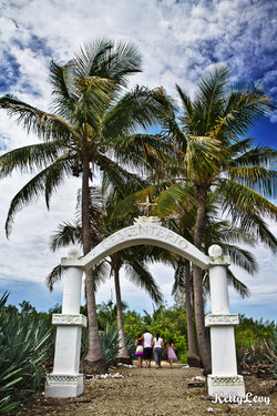 Cemetery. La Isla Cabuya, CR