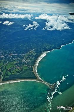 Aerial of Marino Ballena, CR
