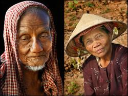 Farmers. Delta Mekong, Vietnam