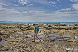 Low Tide. La Isla Cabuya, CR