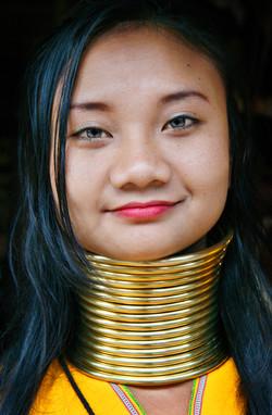 Karen Tribe Woman.Northern Thailand