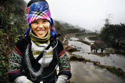 Woman. Sapa, Vietnam