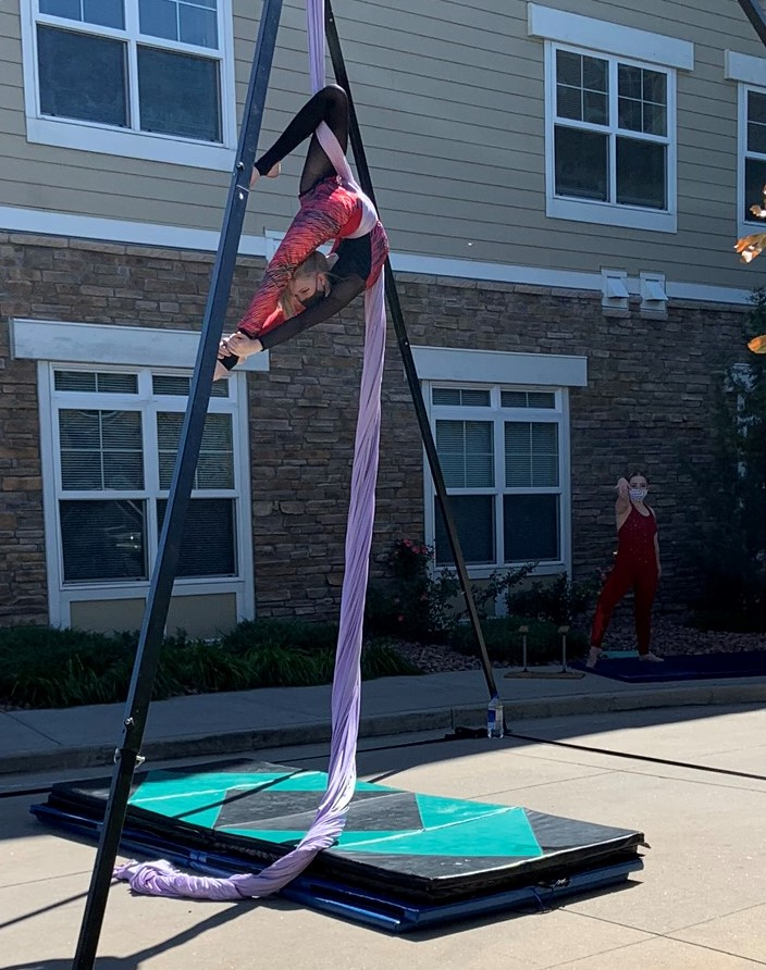 Aerial Fabric Youth Performer