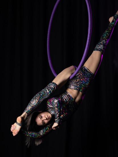 SIERRA PORRECO Straps, Hoop, Fabric, Acrobatics & Tumbling