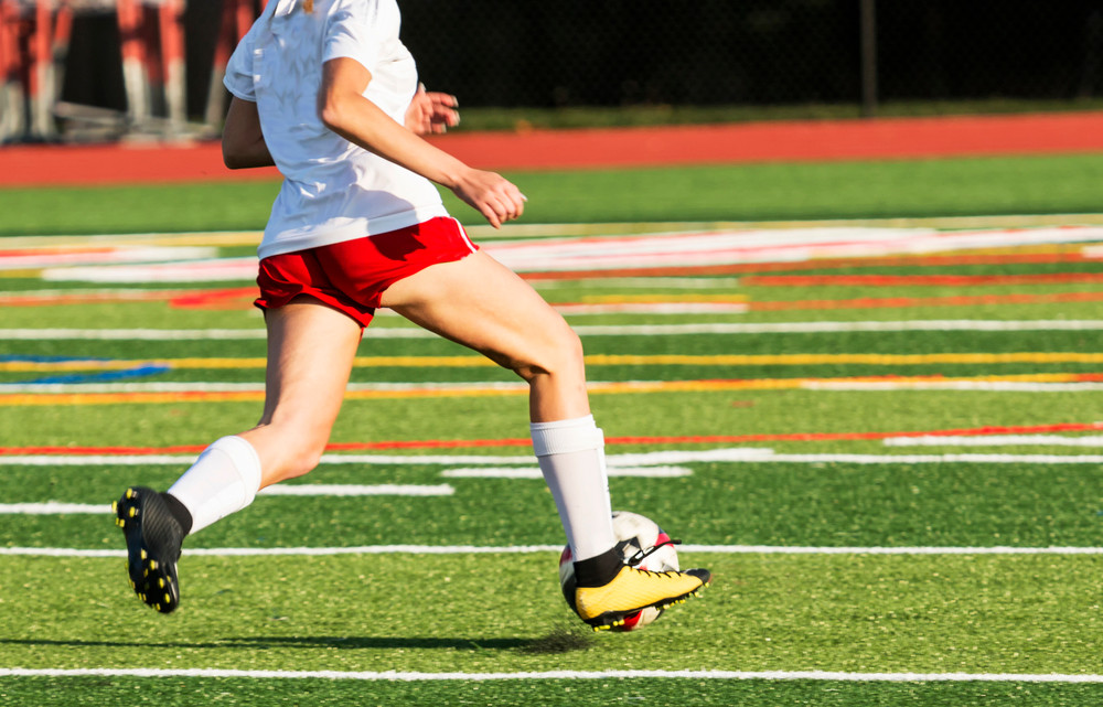 Soccer player with Grit