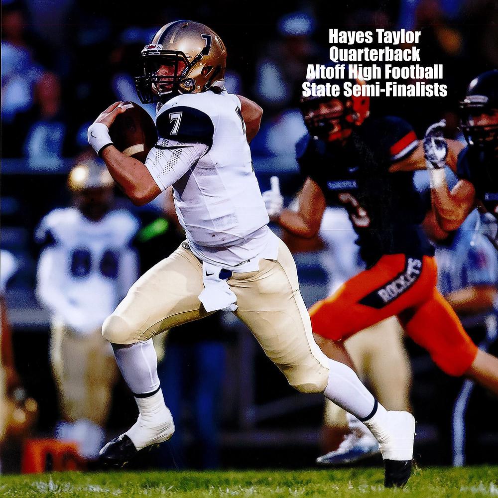 Hayes Taylor, QB