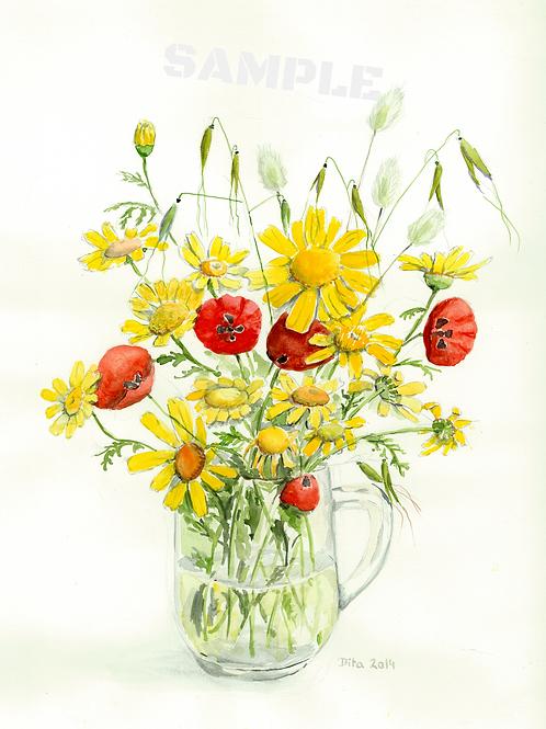 Field Flowers 2014