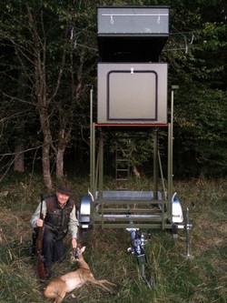 Die mobile Jagdkanzel begeistert