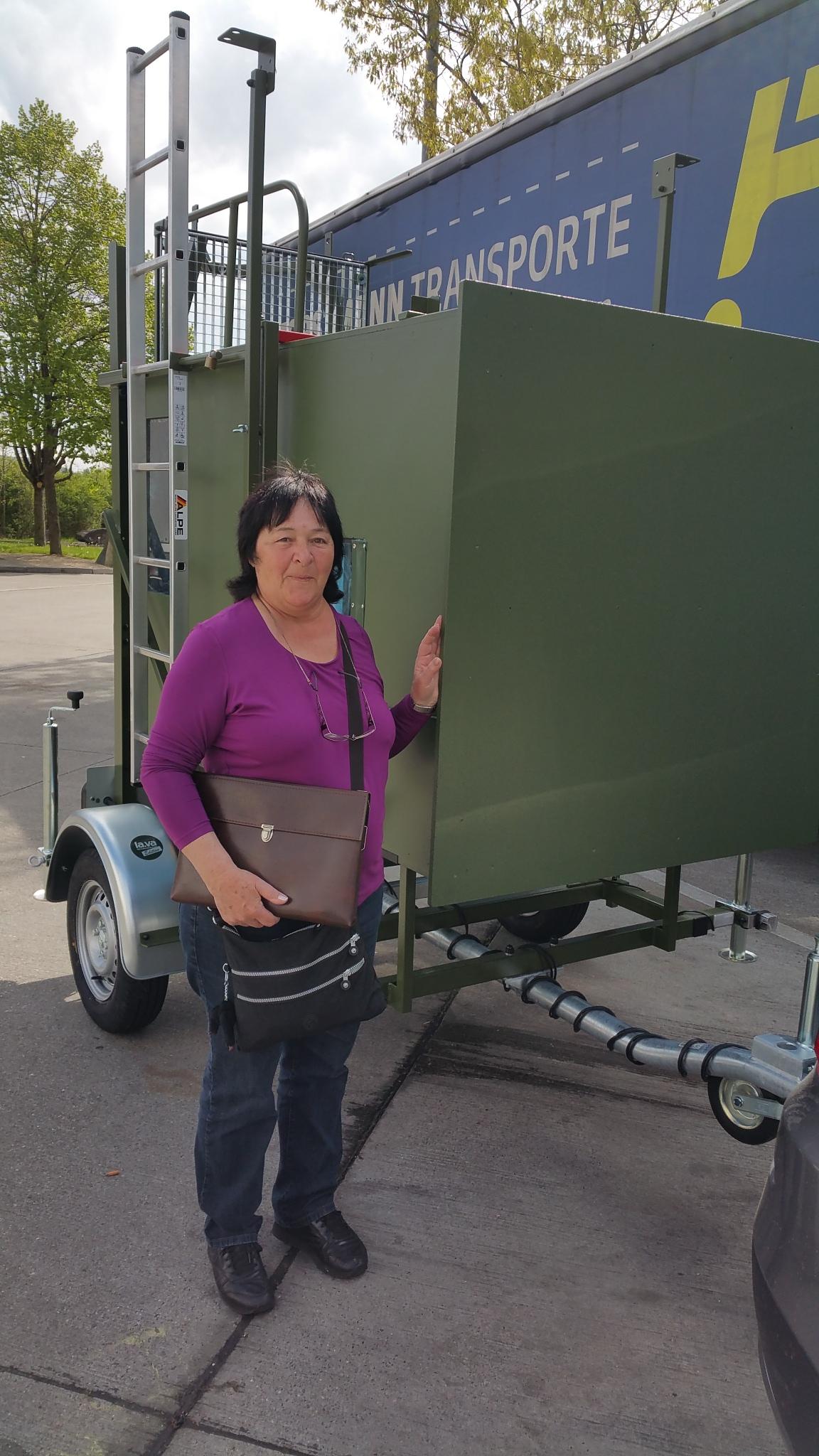 Mobile Jagdkanzel