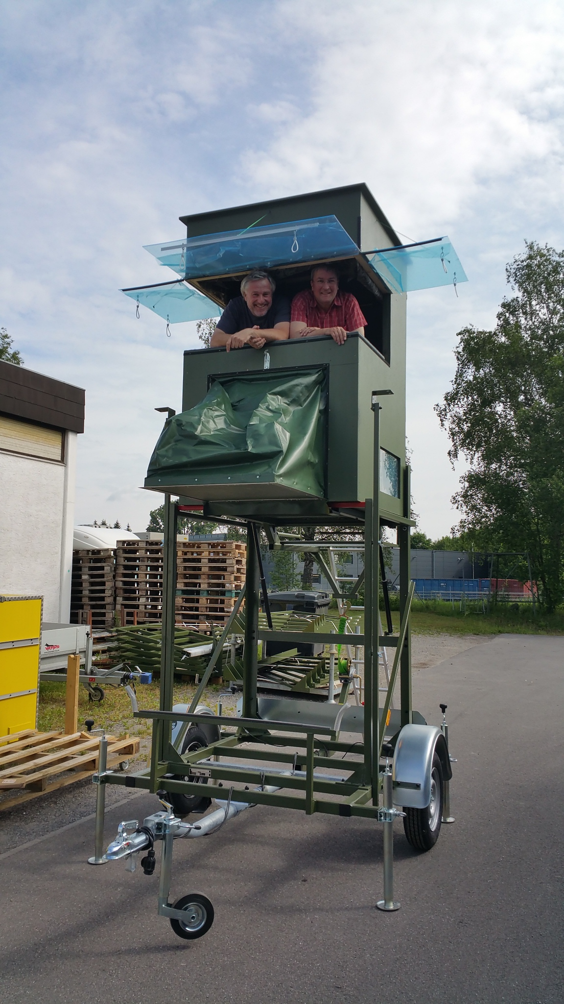 mobile Hochsitz
