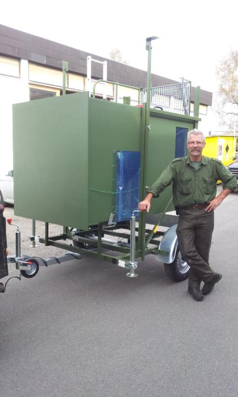 Mobile Jagdkanzel Udo Röck