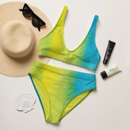 Watercolor Recycled Bikini