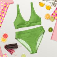 Green Recycled Bikini
