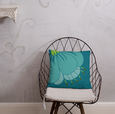 funky floral pillow cover starting at $27