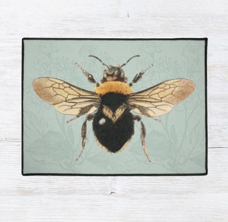 """Queen Bee Rug 24"""" X 18"""" $35"""