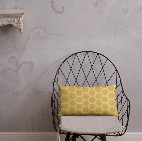 """20"""" X 12"""" honeycomb pillow cover $27 to purchase use link below"""