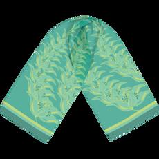 Tropical Leaf Headband Scarf