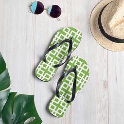 green breeze block flip flop.jpg