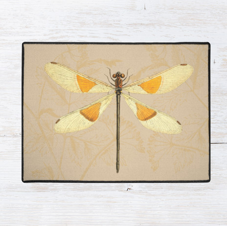 """36"""" x 24"""" dragon fly rug $45 use link below to purchase"""