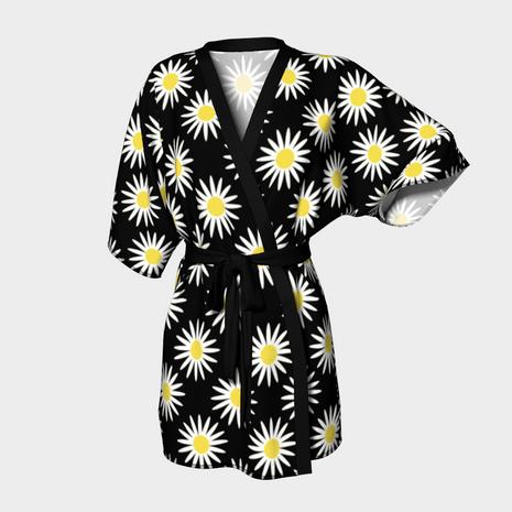 Daisy Kimono in Black